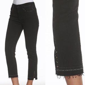 NWT Driftwood Amelia Straight Crop Jeans